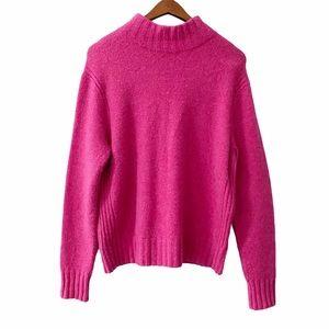 Point Sur Mockneck Al Paca Merino Wool Sweater XL